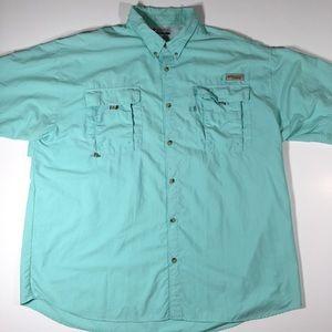 Columbia sportswear PFG button up men's size XXL